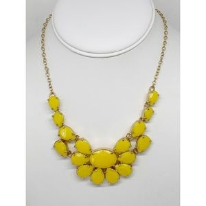 Kate Spade Yellow & Gold Necklace